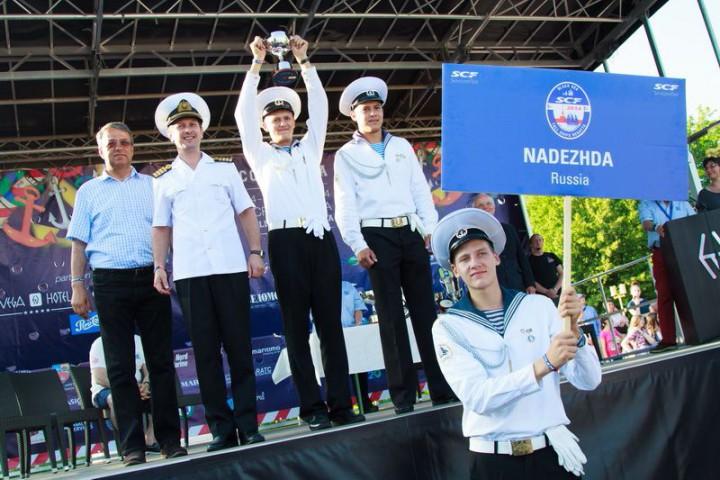«Надежда» стала победителем Черноморской Регаты Больших Парусников 2014!