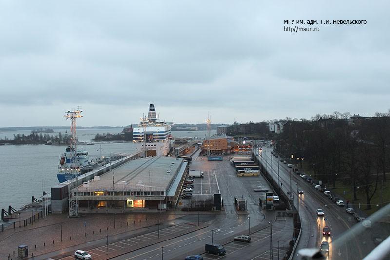 Закладка судна «Адмирал Невельской» в Хельсинки