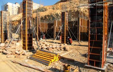 Строится учебно-тренажерный комплекс