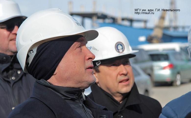 Рабочая поездка заместителя руководителя Росморречфлота во Владивосток