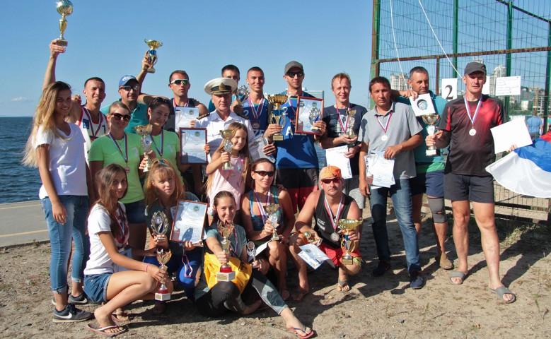 Пляжный волейбол: финальный турнир сезона