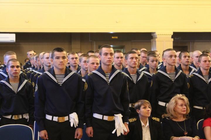 В Морском колледже продолжены славные традиции