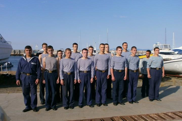 Шлюпочная практика курсантов-первокурсников МТК