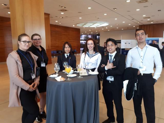Курсант Выонг Хай – участник студенческой конференции IAMU Student (IAMUS)