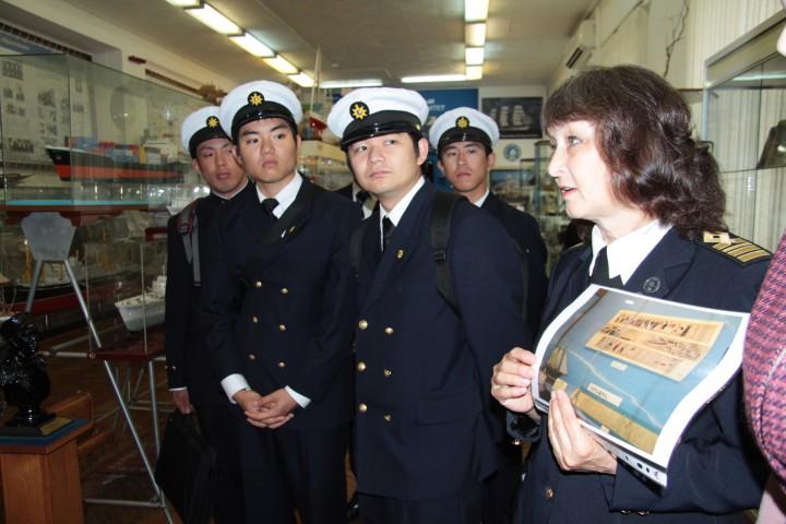 Морская дружба объединяет берега Японского моря