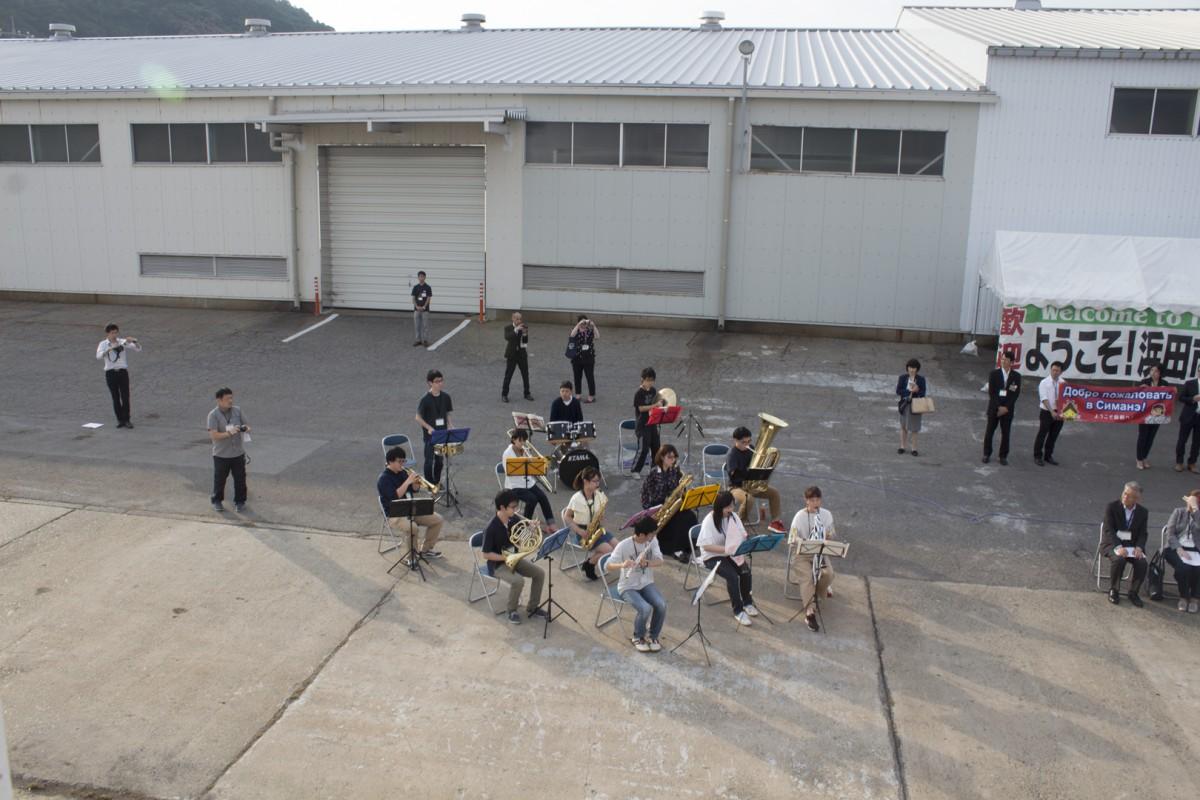 За рейс курсанты прошли через 15 парусных авралов