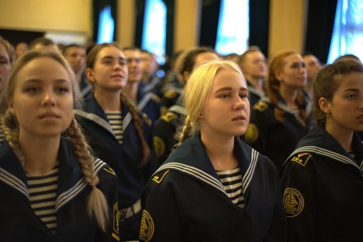 Посвящение в курсанты 2018: новый уровень – новые надежды