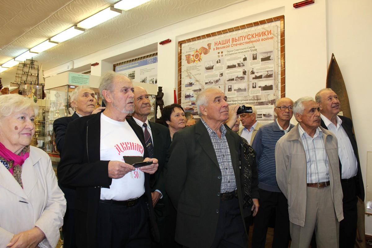 Встреча «однокашников» 12 роты СМФ ДВВИМУ через 50 лет