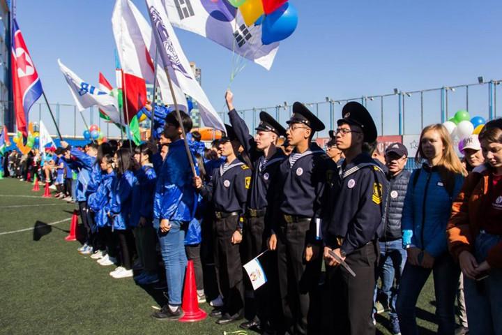 Поколение мира выбирает спорт и русский язык!