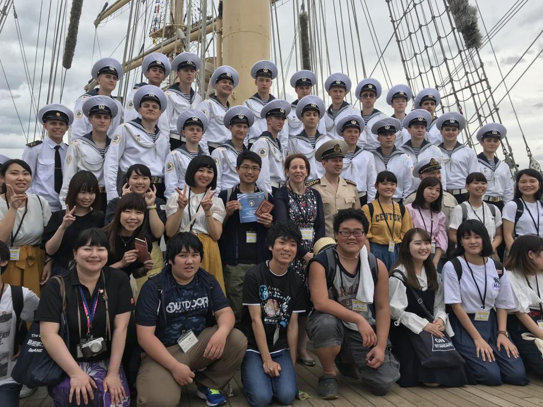 Гоцу помнит спасенных моряков судна «Иртыш»