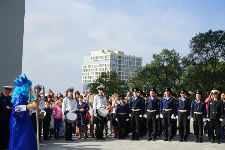 160 первокурсников МТК стали курсантами и студентами