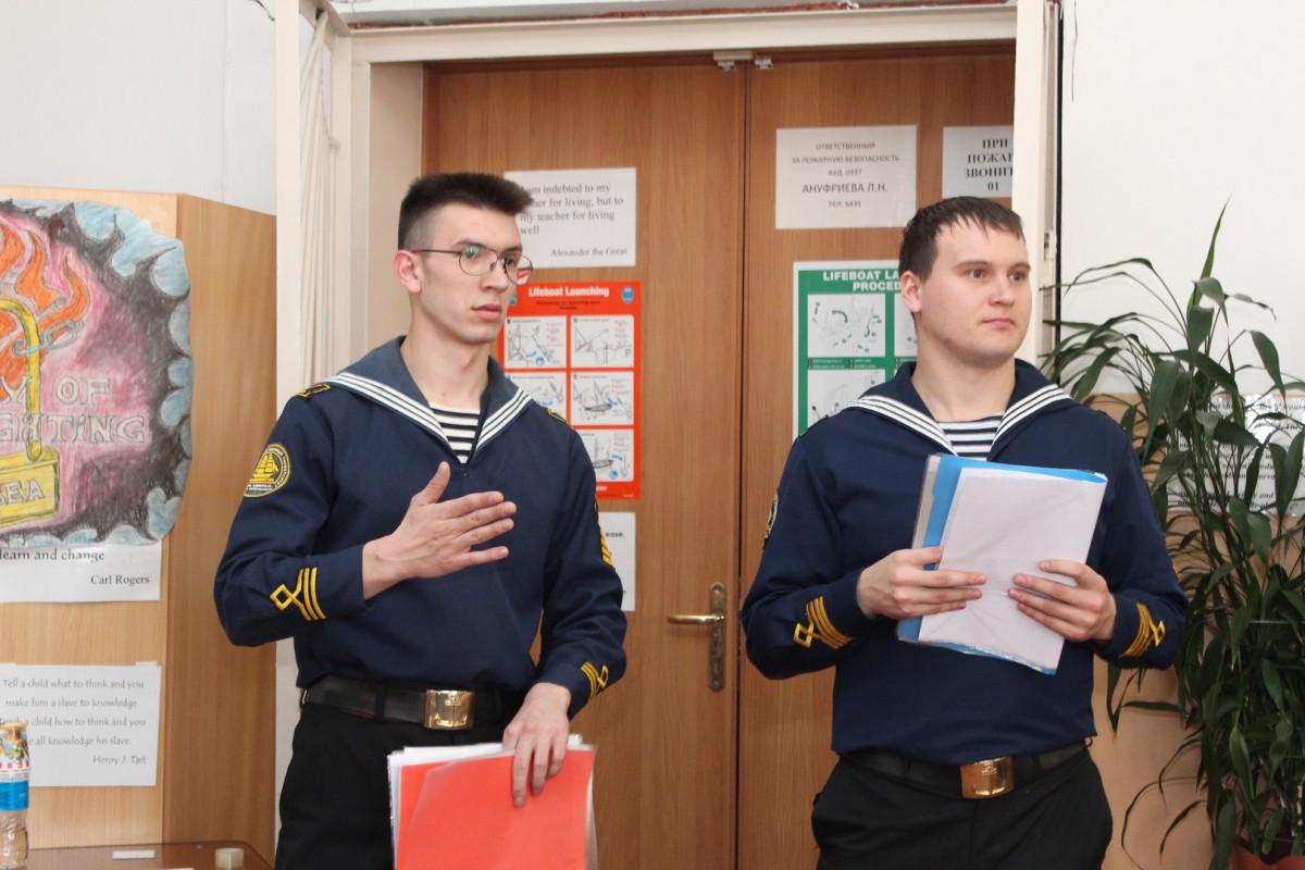 «Fire-fighting at sea!» – групповой проект судомехаников
