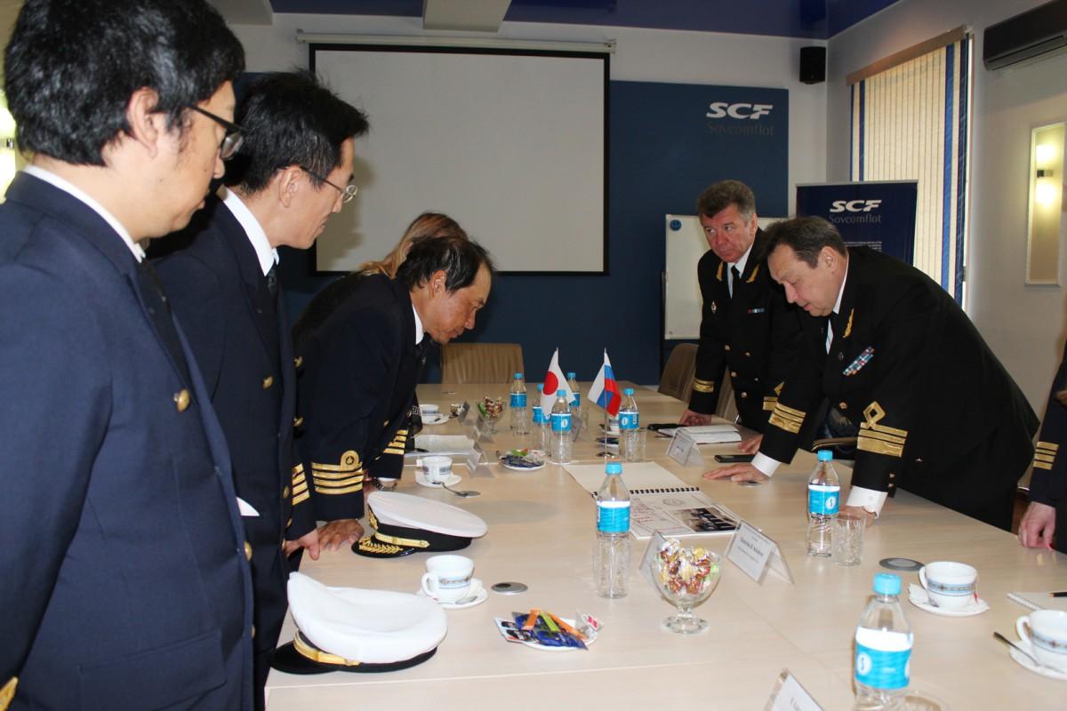 Встреча помогла обмену опытом по организации практики на учебных судах