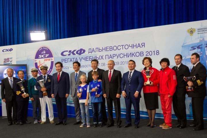Курсанты Морского университета на ПУС «Надежда» стали победителями регаты