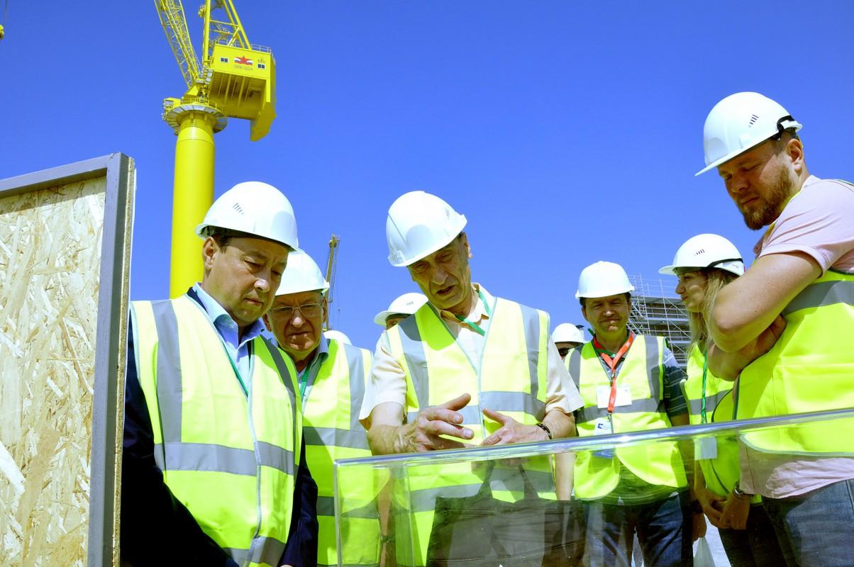Участники 1-го Международного дальневосточного морского салона ознакомились с производственной площадкой судоверфи «Звезда»