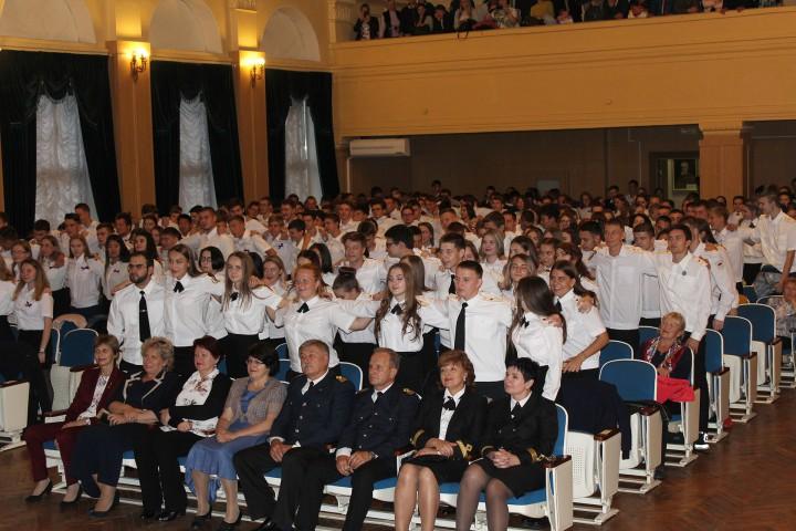 Студенты-первокурсники на посвящении поклялись хорошо учиться