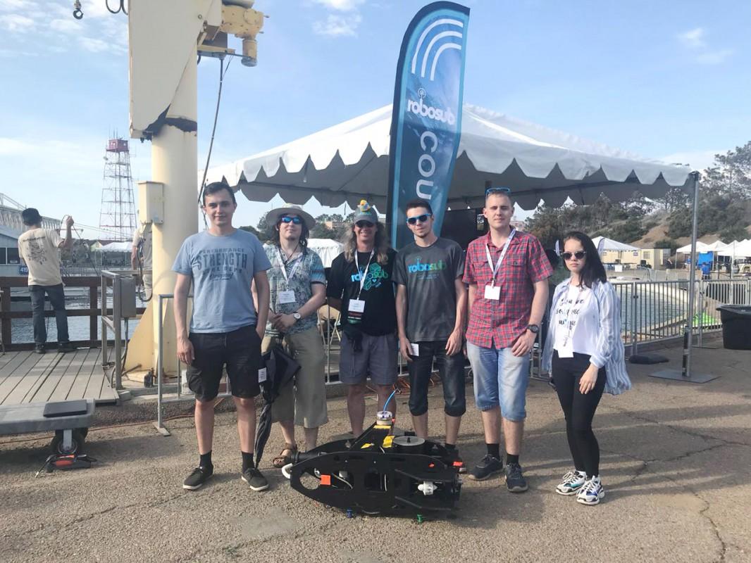 Команда Морского университета – среди участников Robosub-2018