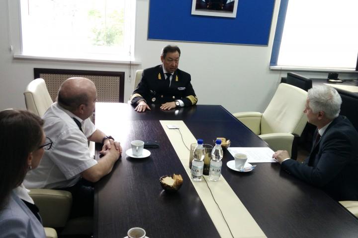 Университет посетил представитель компании АВВ