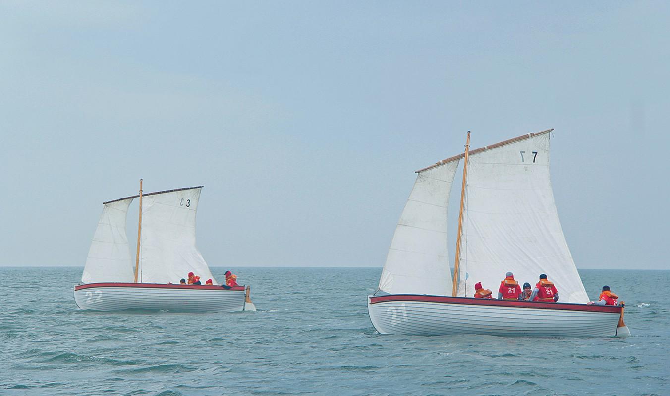 На акватории Амурского залива – парусные гонки 62-й гребно-парусной регаты