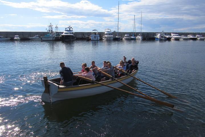 Шлюпочная практика студентов и курсантов Морского колледжа