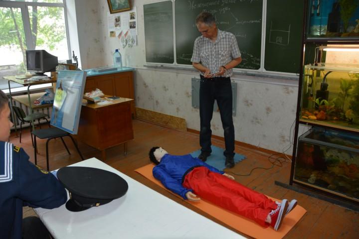 Тренажёр в помощь курсанту