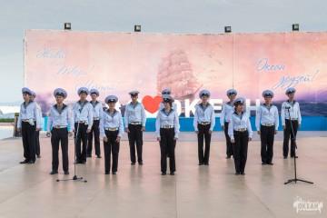 Необычный визит курсантов Морского университета в ВДЦ «Океан»