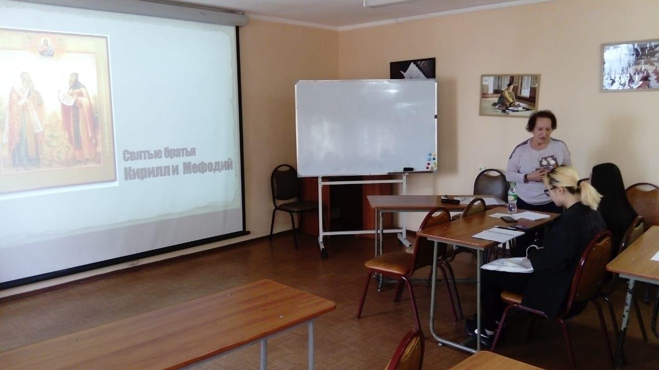 Иностранные студенты познакомились с историей русской азбуки