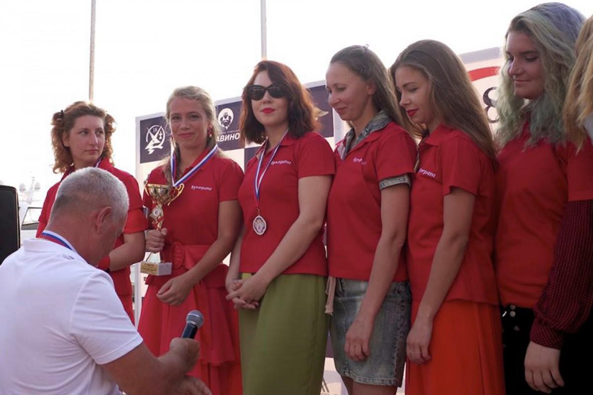 Морской университет среди победителей регаты