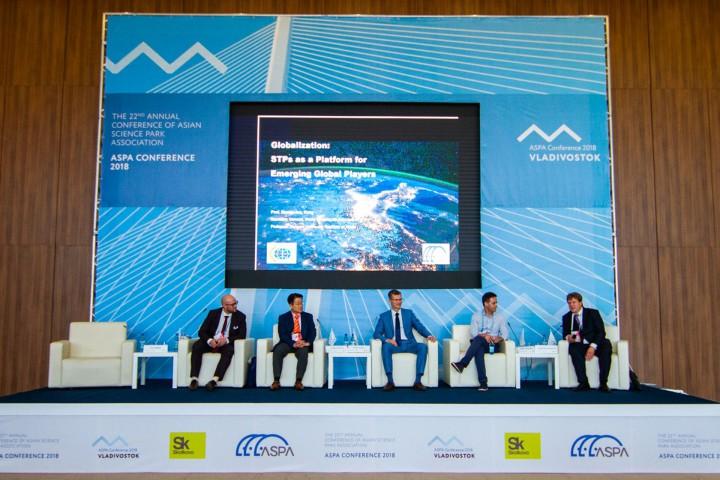 Аспиранты обсудили будущее технопарков в рамках конгресса ASPA