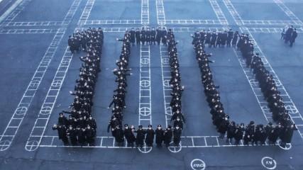 Молодёжное поздравление Астраханского речного училища с юбилеем