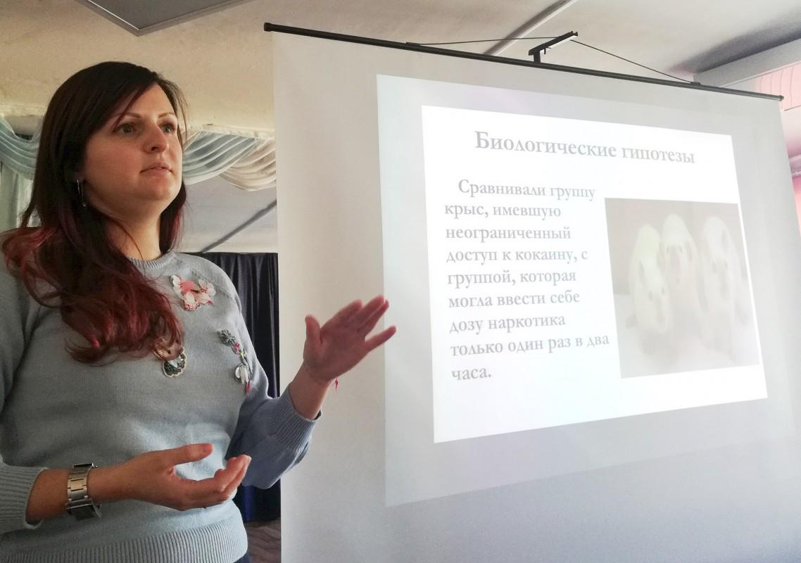 Курсанты МТК встретились с медицинским психологом