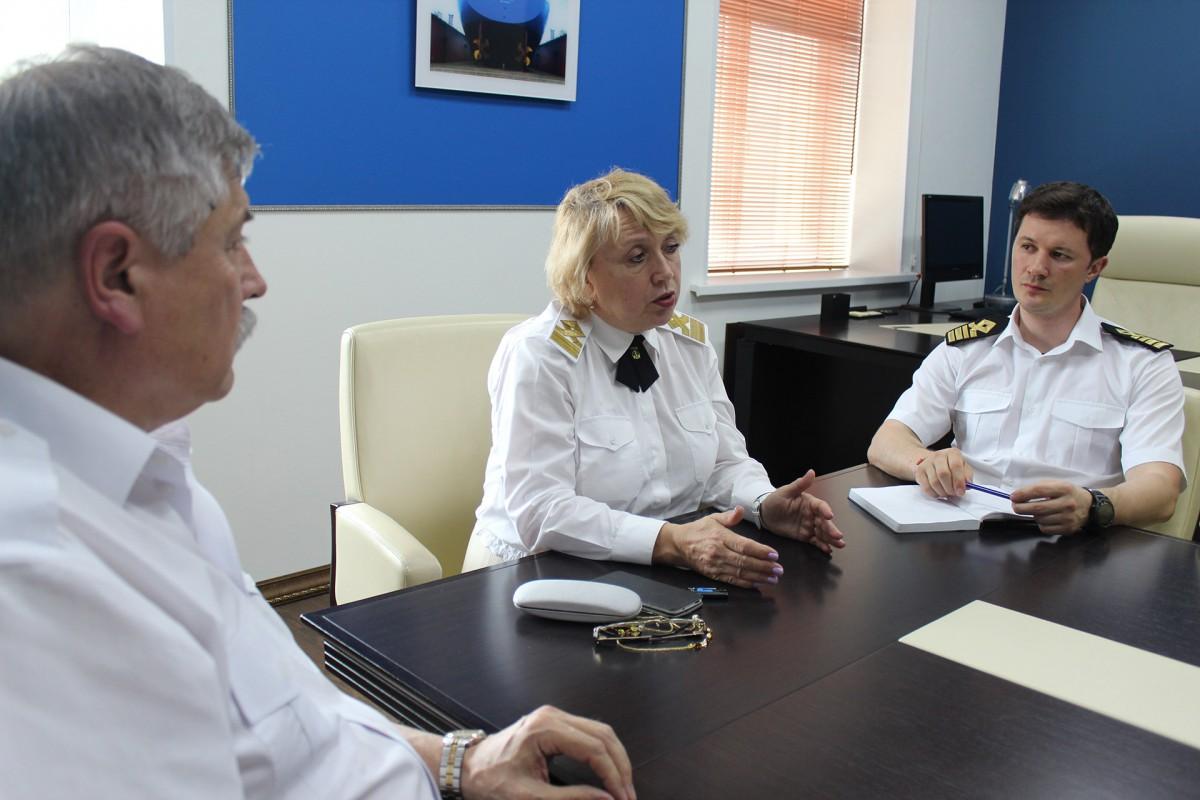 Встреча с представителем ФУМО