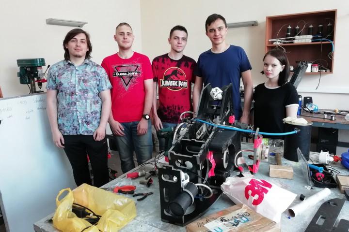 Морской университет очередной раз участвует в Robosub