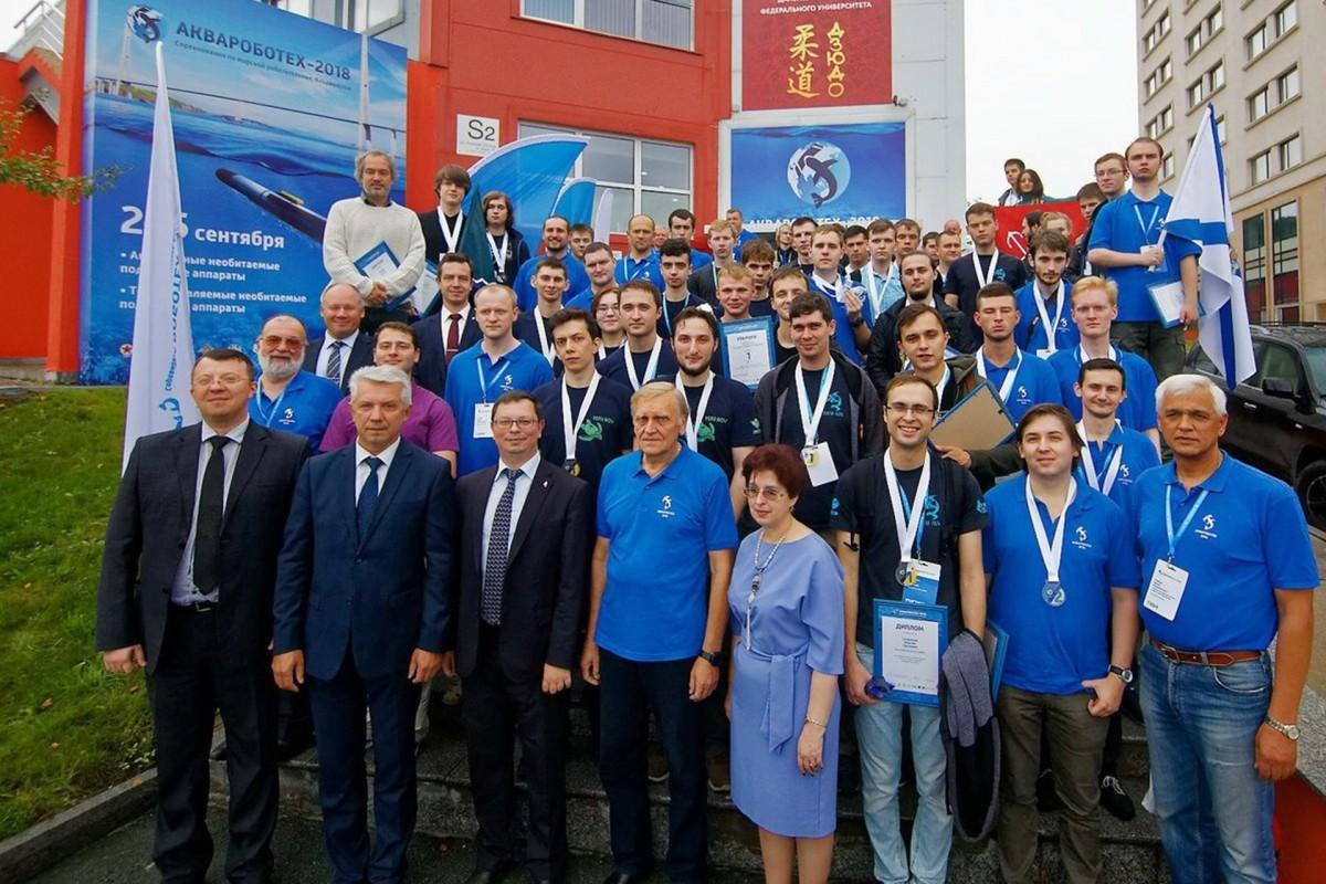 В финале «Аквароботех-2018» наши команды стали вторыми