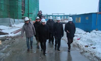 Рабочий визит заместителя руководителя Росморречфлота Пошивая