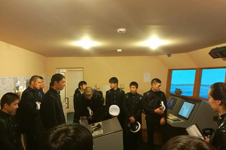 Дружеская встреча с курсантами «Кайё мару»