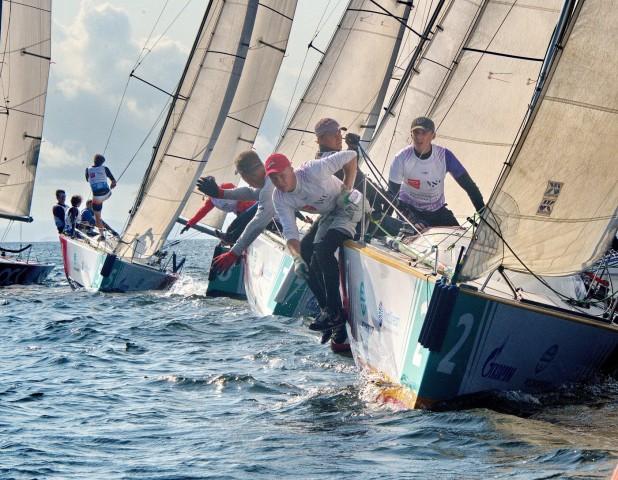 Курсанты-судоводители проявили себя опытными яхтсменами