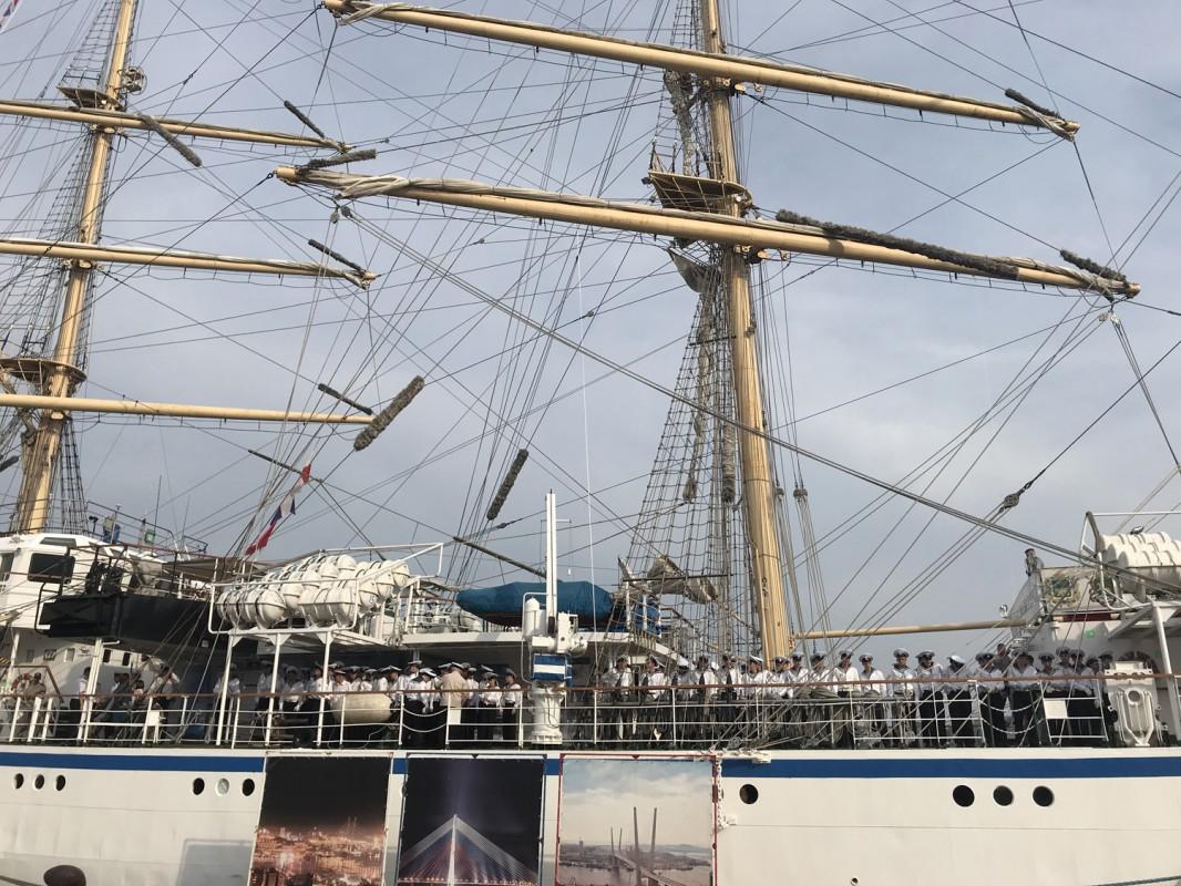 Дружественный визит в порт Хамада