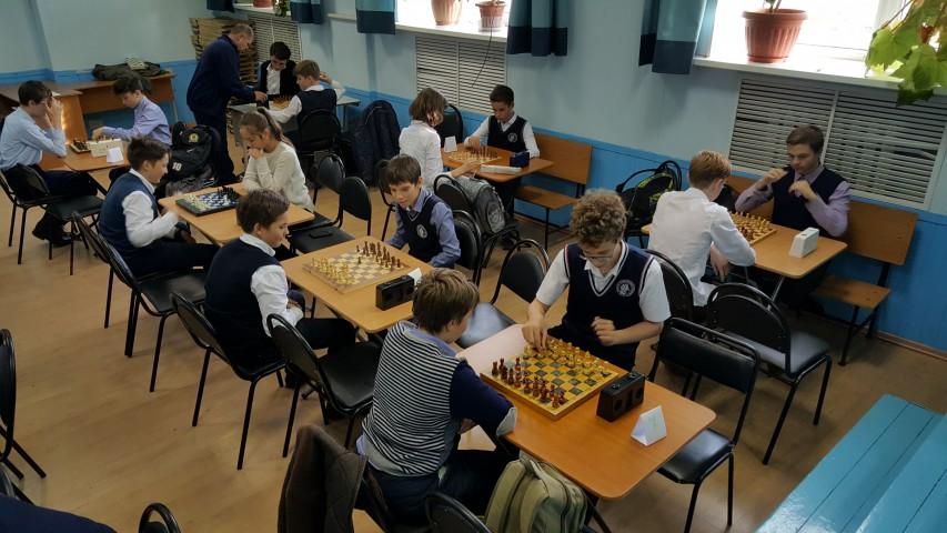Шахматный турнир лицеистов