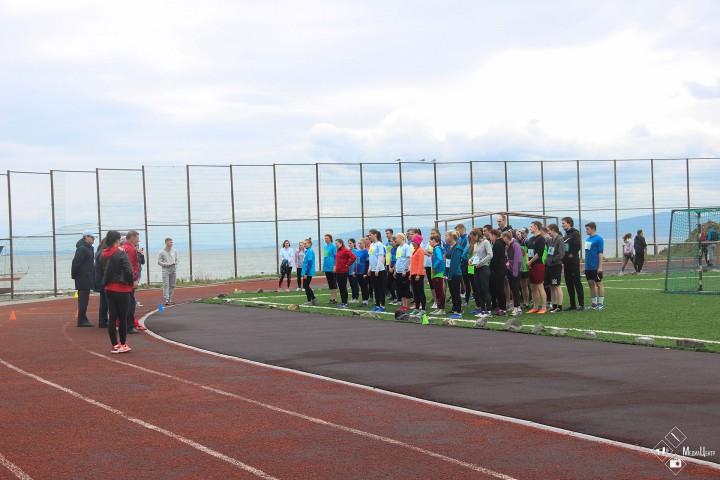 Командный дух соревнований объединил молодежь