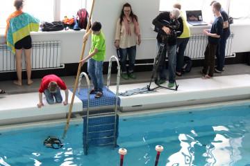 Приглашаем понаблюдать за поединками подводных роботов