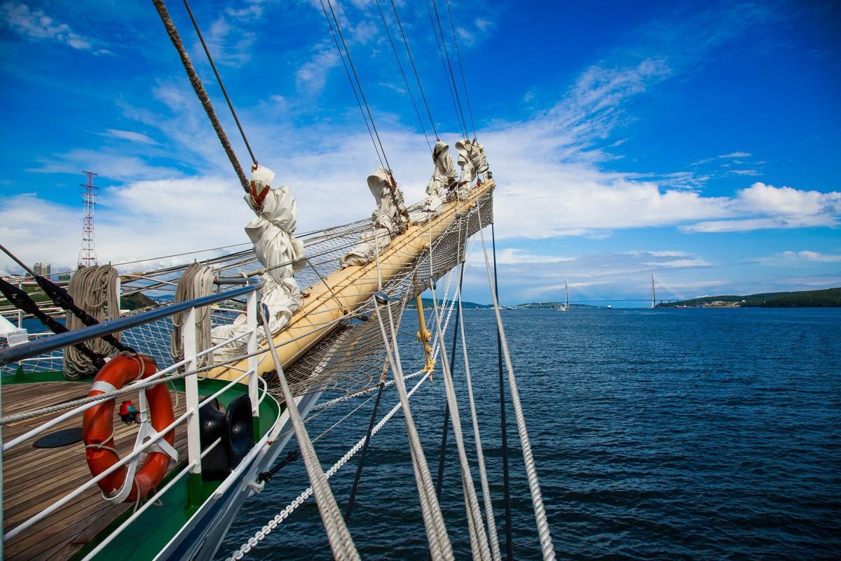Курсанты-практиканты под парусами прибудут на юбилейный фестиваль в Нагасаки