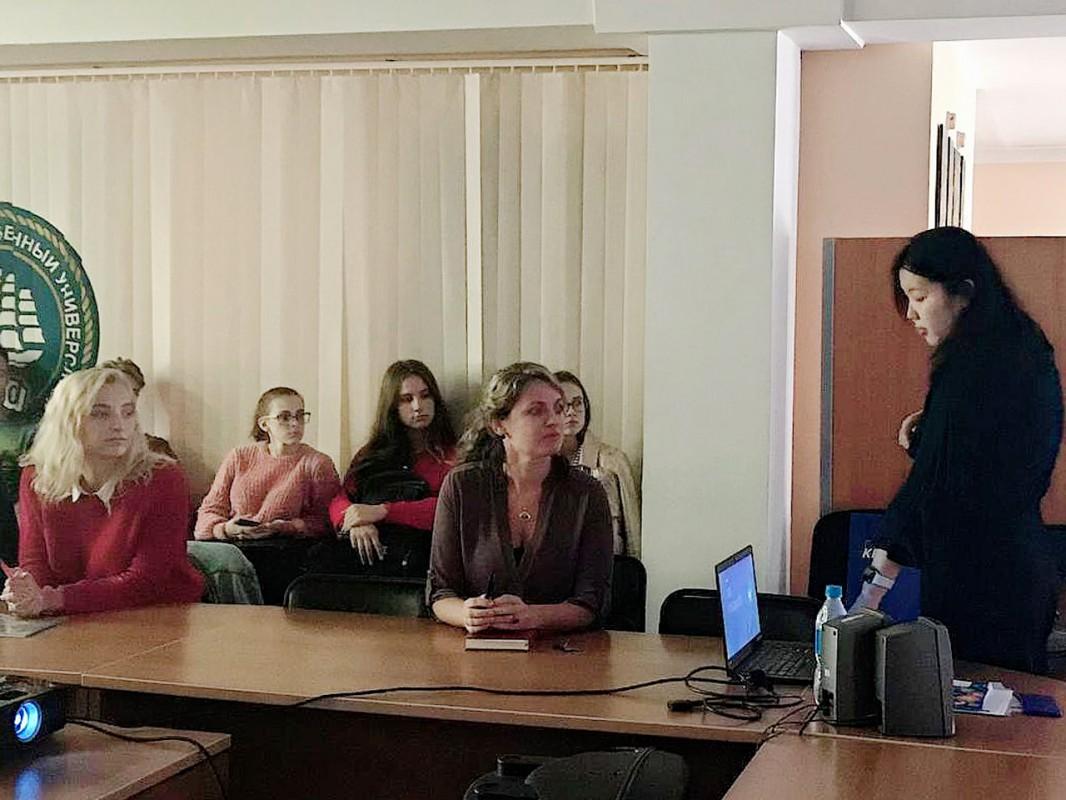 Проект «Лектор-практик в аудитории» продолжается