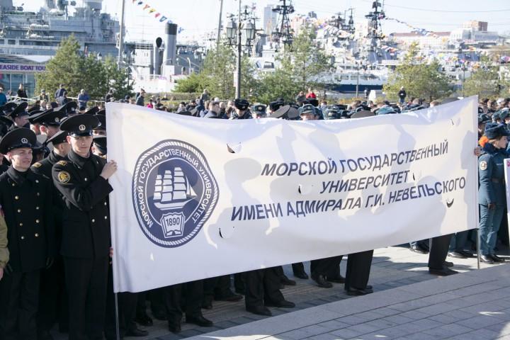 Курсанты приняли участие в митинге в честь Дня народного единства