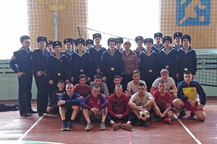Футбольный матч с будущими абитуриентами МТК