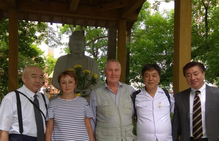 Наши гости – японские моряки-фотографы