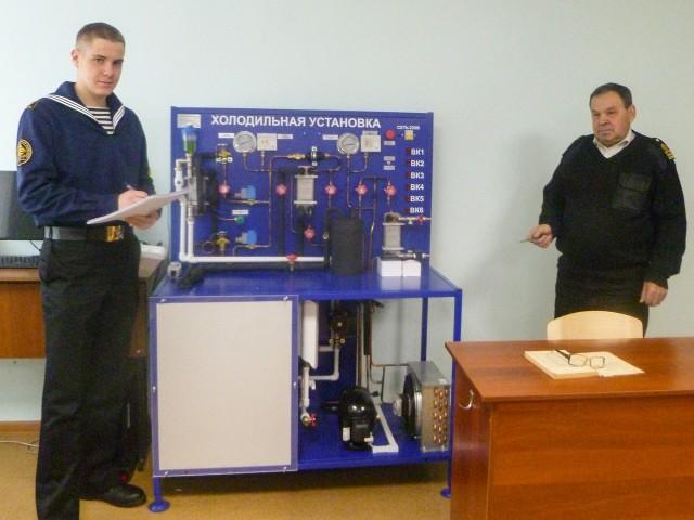 В МТК смонтирована лабораторная холодильно-компрессорная установка