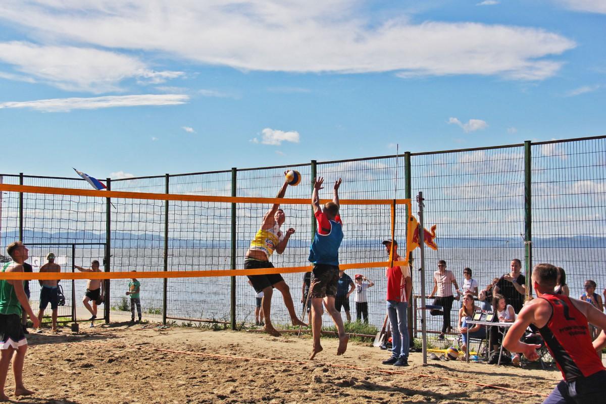Турнир по пляжному волейболу выявил сильнейших