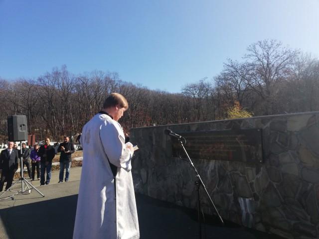 Курсанты МТК участвовали в митинге Памяти жертв политических репрессий