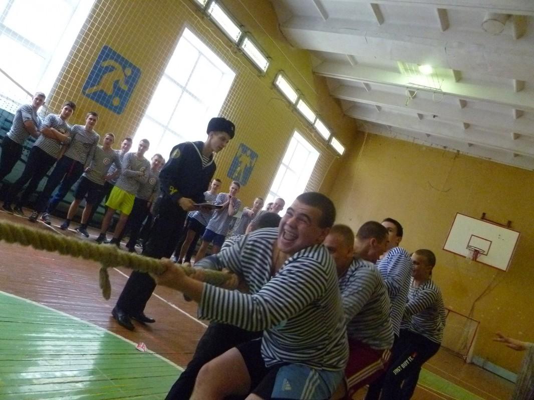 Военно-спортивная эстафета посвящена Дню защитника Отечества